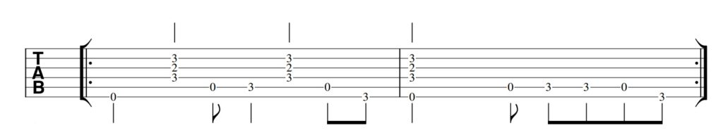 Red Right Hand Guitar Tab