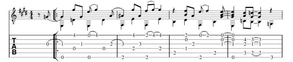 Guitar Rag Merle Travis Guitar Tab