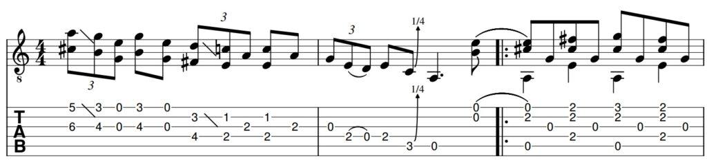 Blues Etude No. 17